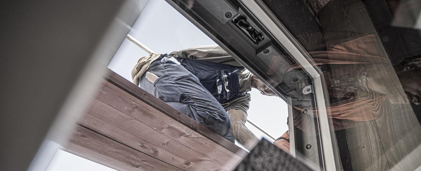 montaż okien dachowych