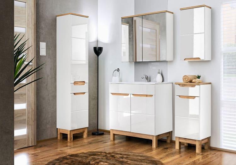 nowoczesna szafka pod umywalkę
