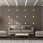Montaż sufitu podwieszanego z listwą LED